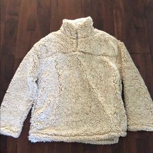 Sweaters - Sherpa Pull Over